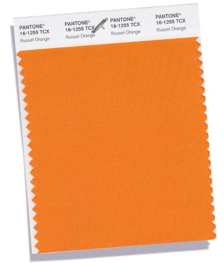 russet orange