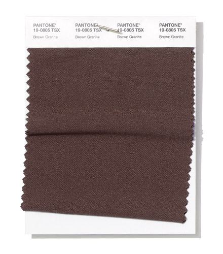 Pantone-FCR-Spring-2019-Brown-Granite